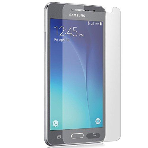 Conie 9H3028 9H Panzerfolie Kompatibel mit Samsung Galaxy Grand Prime, Panzerglas Glasfolie 9H Anti Öl Anti Fingerprint Schutzfolie für Galaxy Grand Prime Folie HD Clear
