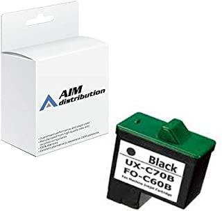 AIM Compatible Replacement for Sharp UX-B15/20/30/B700 Black Inkjet (500 Page Yield) (FO-C60B) - Generic