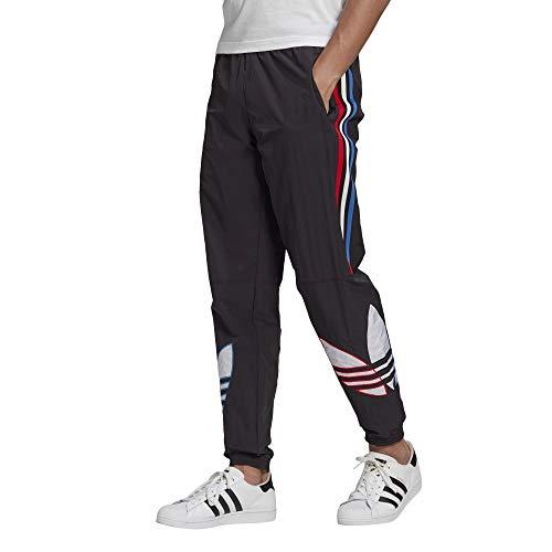 adidas Originals Pantalones de chándal Tricolor para hombre - negro - Small