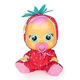 Bebés Llorones Tutti Frutti Ella - Muñeca interactiva que llora de verdad con chupete y pijama de Fr...