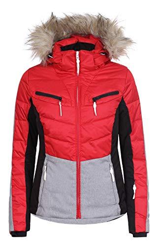Icepeak Valda Kunstpelzkragen Skijacke Damen rot *UVP 169,99 48