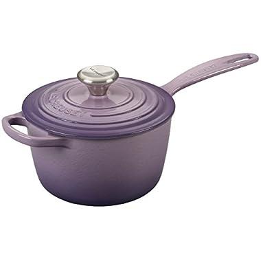 Le Creuset Signature Provence Enameled Cast Iron 1.75 Quart Saucepan