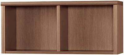 小島工芸 オープンシェルフ ウォールモカ サイズ:W903×D305×H400mm 上置 90アコード ウォールモカ 2391571