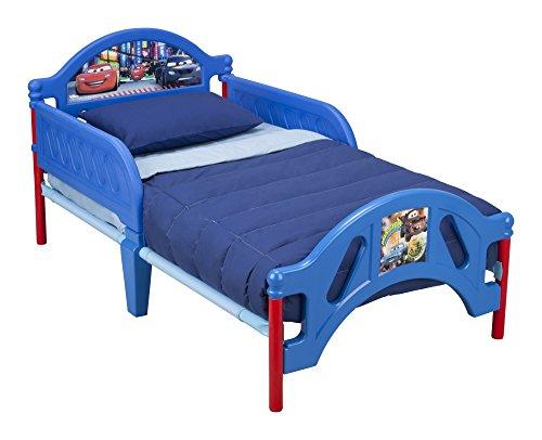 Delta Children Plastic Toddler Bed, Disney/Pixar Cars