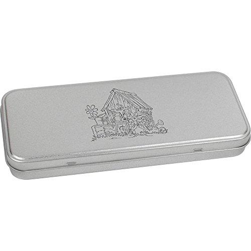 180mm x 75mm 'Ancien Hangar' boîte de Papeterie métal (TT00057202)