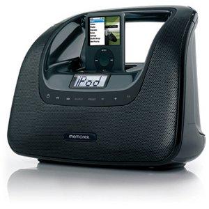 Memorex MiniMove Mi3X Player Dock Radio (CR5540) Category: Docking Stations and Internet Radios