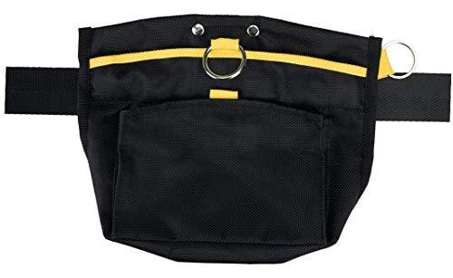 Trixie 28867 Sporting Snacktasche, Gurt: bis zu 120 cm, schwarz/gelb
