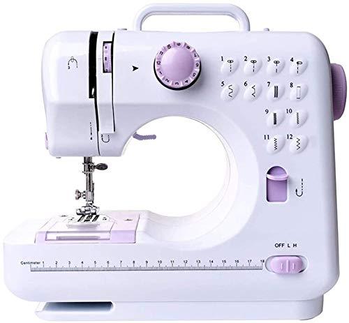 Máquina de coser Portátil Eléctrica Pequeña Doméstica -12 tipos de puntadas,Herramientas De Coser