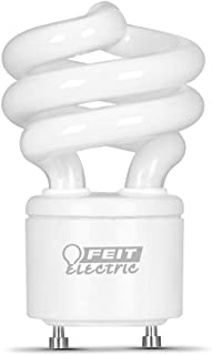 Soft White Feit Electric Company Pack of 12 Feit BPESL23TM//GU24 100W Equivalent CFL Twist GU24 Base Bulb