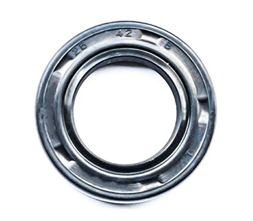 EAI Oil Seal 26mm X 42mm X 8mm TC Double Lip w/Spring. Metal Case w/Nitrile Rubber Coating