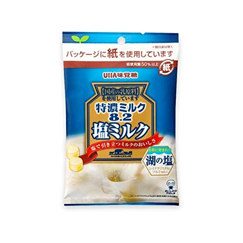 UHA味覚糖 特濃ミルク8.2 塩ミルク 75g×30袋