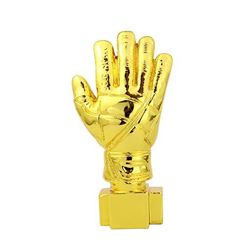 Aida Bz Kopieren Sie Torwart Golden Gloves Trophy WM Harz Resin Trophy (5,5 * 2,3 * 10 Zoll),Goldplated