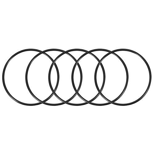 sourcing map 5pcs O-Ringe Nitrilkautschuk 102mm x 110mm x 4mm Dichtungsringe Dichtung DE de