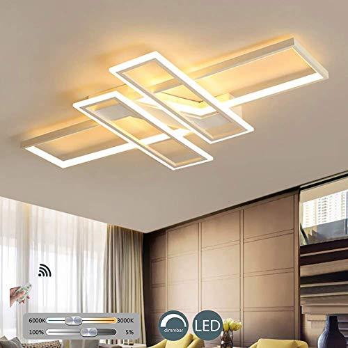 KBEST LED Luz De Techo Moderna Lámpara De Sala Regulable co