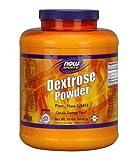 Dextrosa en polvo de Now Foods Sports