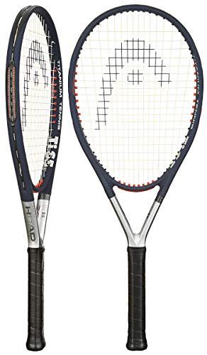 HEAD Ti. S5 CZ Tennis Racket - Pre-Strung Head Heavy Balance 27.5 Inch Racquet - 4 3/8 In Grip