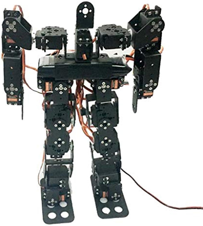 Perfk 1 Pc Humanoider Roboter Spielzeug Viele Aktionen ausführen mit hohem Drehmoment und Bewegung Spielzeug