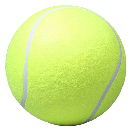 QIANMA Juguete Perro Perro Tenis Bola Gigante para Mascota Interactiva Chew Juguete...