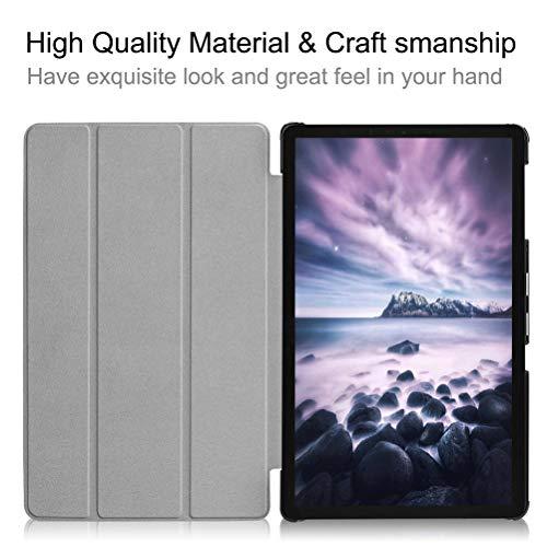 KATUMO Hülle Kompatibel mit Samsung Galaxy Tab A 10.5'' - Ultra Slim Leder Tasche Hülle Skin für Samsung Galaxy Tab A (2018) SM-T590N/T595N (10,5 Zoll) Schutzhülle Smart Case Cover mit Standfunktion