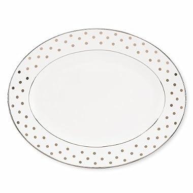 Kate Spade Larabee Road Platinum 16.0 Oval Platter