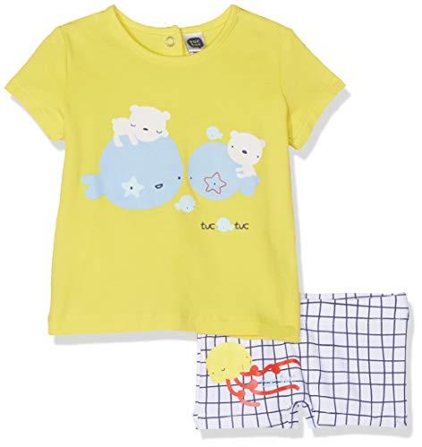 Tuc Tuc Bóxer Licra+Camiseta Punto Niño Tiny Bear Ensemble, Bleu (Azul 16), 68 (Taille Fabricant: 6M) Bébé garçon