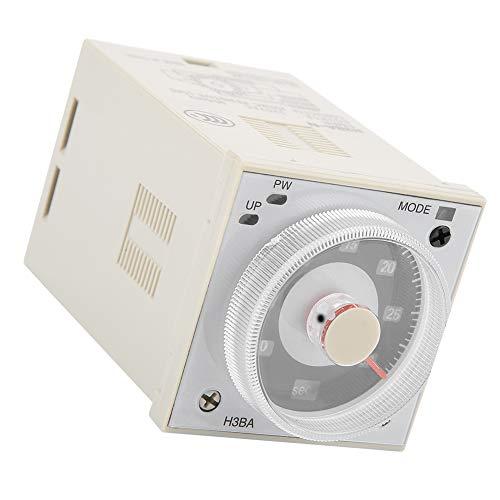 FEBT Relé Temporizador De Retardo, Relé Temporizador De Alta Precisión De Rendimiento Estable Conveniente para Circuito De Control Automatizado
