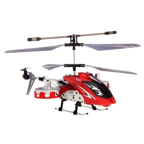 Mini Toy Helicopter F103 Infrared Remote Control 4 Channel Built-in Gyro LED Light / Gift Present for Boys Girls Children Xmas Bithday Party / Blue by Primacy