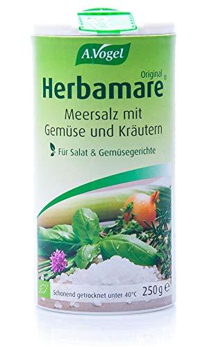 A.Vogel - Herbamare (Frischkräuter-Meersalz aus der Camargue), 1er Pack (1 x 250g) - BIO