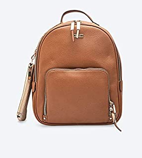 ALDO Zip Closure Eralessi Backpack - Tan
