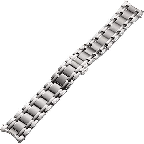 Elysee Uhrenarmband - Poliertes Edelstahl-Armband mit Doppel-Faltschließe mit Doppel-Faltschließe -