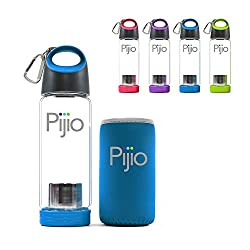 Pijio infused glass tea bottle for travel