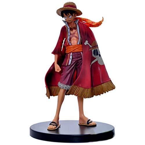 WEIPENG Anime Figuren Anime One Piece Ruffy Edition Actionfigur Figuren Sammler Modell Spielzeug Weihnachtsspielzeug