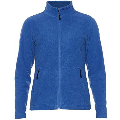Gildan Hammer - Forro Polar Micro para Chica Mujer (3XL) (Azul Real)