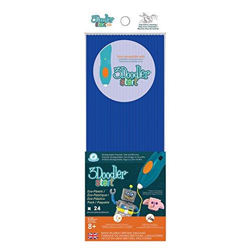 3DOODLER 3Doodler Blu 62117Fili per 3D-Pen (Pezzi)