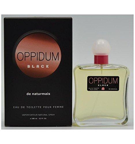 Eau De Toilette Générique Oppidum Black De Naturmais Pour Femme 100 ml