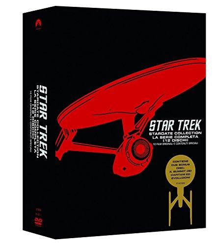 Locandina Star Trek 1,10 Collection (Box 12 Dvd)