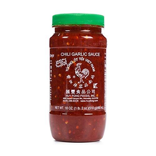 Huy Fong Chili Garlic Sauce, 18 Oz Jars