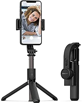 ARTOFUL Selfie Stick Tripod Gimbal Stabilizer for Smartphone with Wireless Remote Control 360° Rotation Auto Balance Stabilizer Portable Phone Stand for iPhone & Android Phone