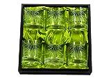 Juego Whisky 6 vasos tallados a mano en Cristal de Bohemia Zwiessel