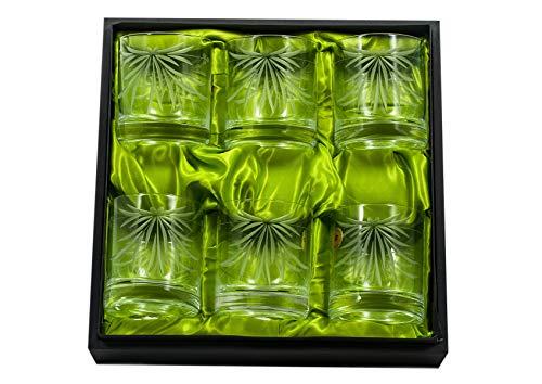 comprar vasos whisky cristal bohemia talladas on line