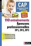 110 entraînements - Epreuve professionnelles EP1, EP2, EP3 - CAP...