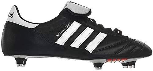 adidas World Cup SG - Crampons de Foot - Noir/Blanc - Taille 41.3