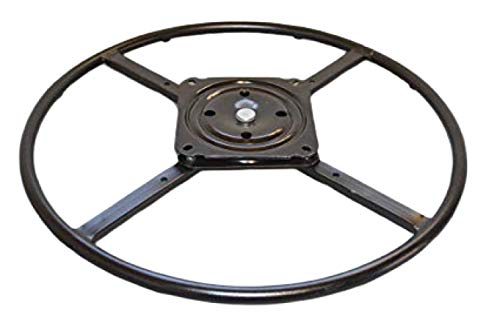 "2WAYZ 24"" Bar Stool Swivel Ring Base, Hardware Replacement Part. New Life for Chairs, Rockers and Recliners. Quickly Installed Heavy Duty Bearing Kit. Enjoy!"