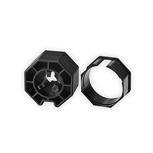 Elero Adapter- Mitnehmer | Achtkant-Stahlwelle SW 50 | für Elero RevoLine M Antriebe
