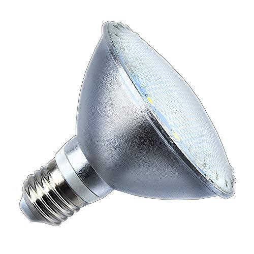 Luxvista 12W PAR30 LED Reflektorstrahler E27 Leuchtmittel wasserdicht IP65 Kaltweiß 6000K 120 Grad (Nicht Dimmbar, 1-Stück)