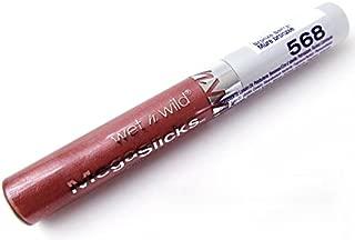 Wet 'n' Wild MegaSlicks Lip Gloss, Bronze Berry 568 (Pack of 3)