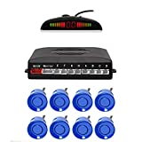 EKYLIN Car Reverse Parking Radar System with 8 Parking Sensors Distance Detection +