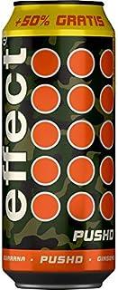 12 Dosen a 500ml Effect Pushd Energy Drink inc. 3,00€ EINWEG Pfand Energie