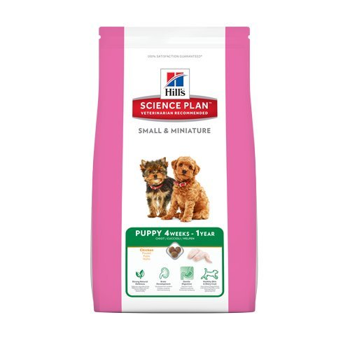 Hill's Hundefutter Small and Miniature Puppy, 3 kg, 1er Pack (1 x 3 kg)