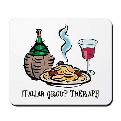 CafePress Italian Group Therapy Non-slip Rubber Mousepad, Gaming Mouse Pad